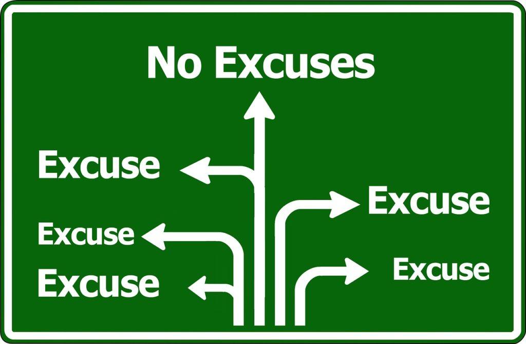 Razonamiento o excusa. Confluir. Psicólogos en Santiago