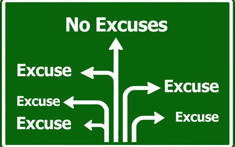 Razonamiento o excusa