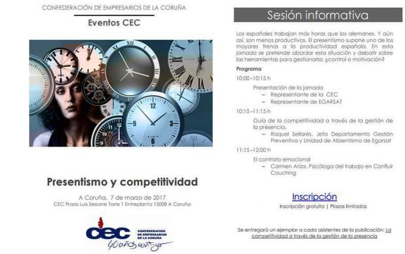 Jornada Presentismo y Competitividad