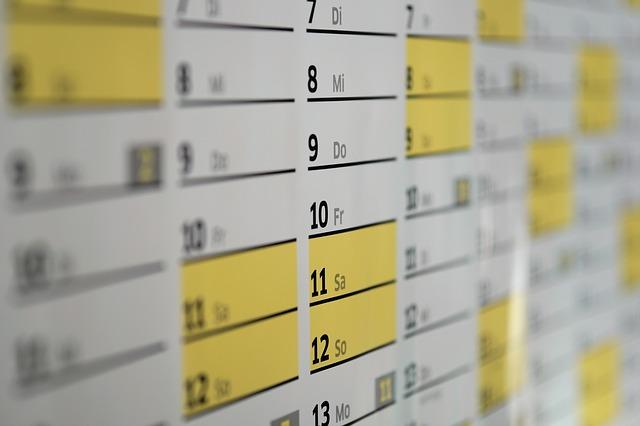 El calendario y los propósitos. Confluir Psicología & Coaching. Psicólogos en Santiago