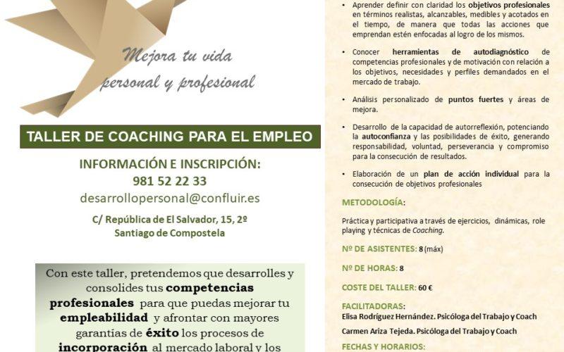 Taller de Coaching para el empleo