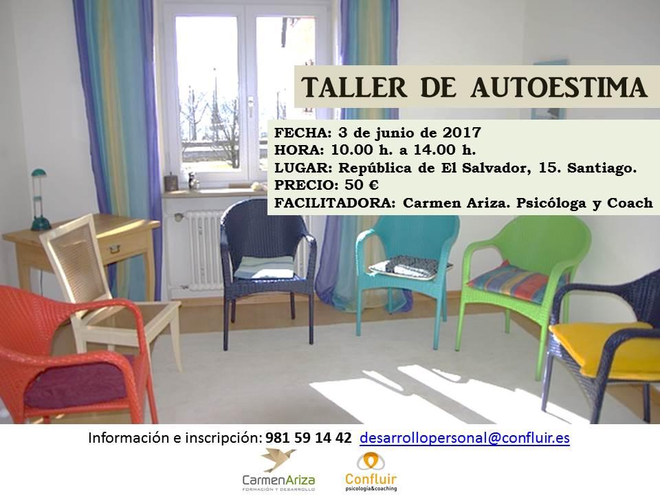 Taller Autoestima. Psicólogos en Santiago. Confluir Psicología & Coaching