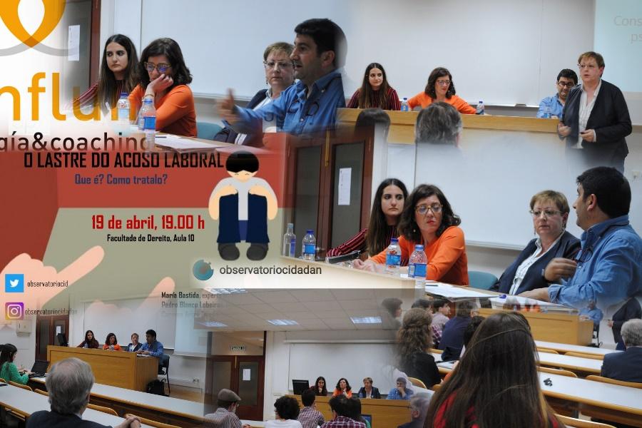 Sesión Acoso Laboral. Confluir Psicología & Coaching. Psicólogos en Santiago.